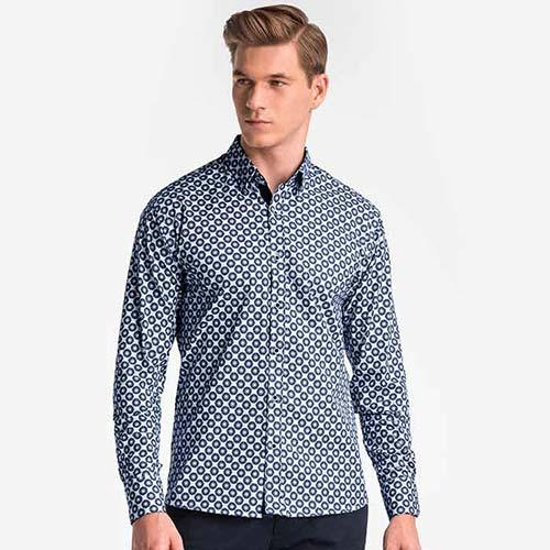 MEN'S SHIRTS - various styles, patterns, designed in Poland