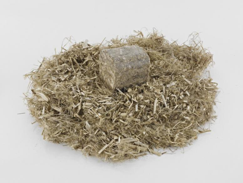 RUF Brikettierpresse für Biomasse - Verdichten & Brikettieren v. organ. Materialien (Stroh, Miscanthus, Hanf etc. )
