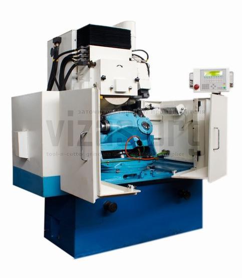 Полуавтомат заточный с ЧПУ для зуборезных головок ВЗ-441Ф2