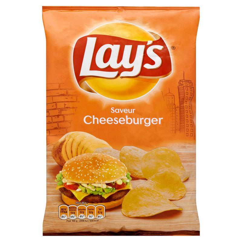 Chips cheeseburger 120g - LAY'S - Chips cheeseburger 120g - LAY'S