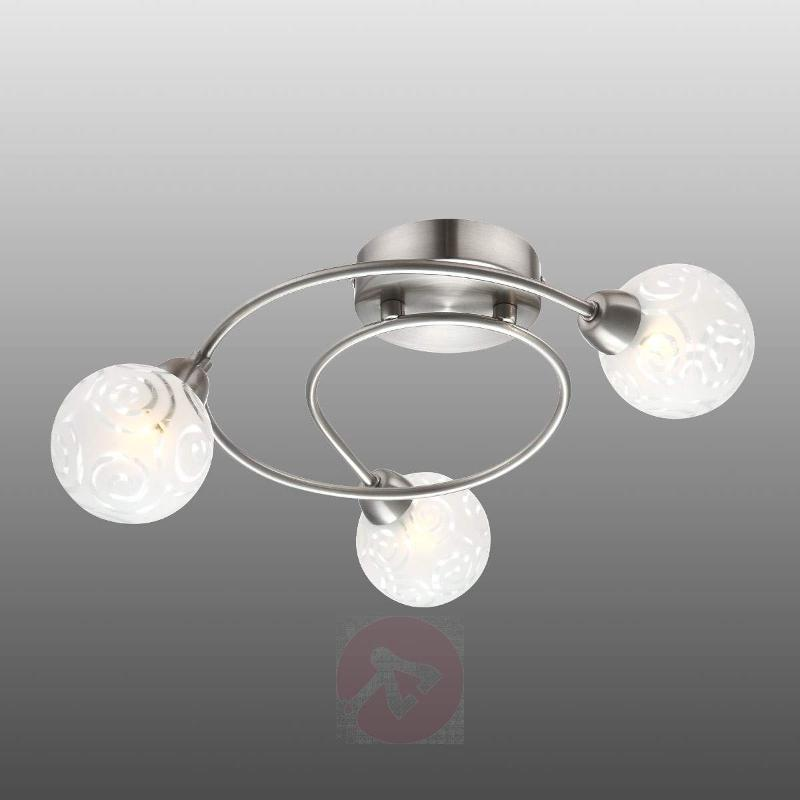 Orlene Ceiling Turret with Spiral Pattern - Ceiling Lights