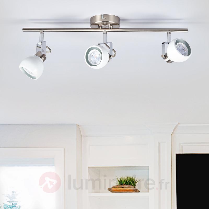 Plafonnier LED attrayant Nima - Spots et projecteurs LED