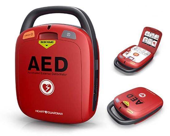 AED DEFIBRILLATOR HR-501 (ANATS) - RADIAN AED HEART GUARDIAN DEFIBRILLATOR HR-501
