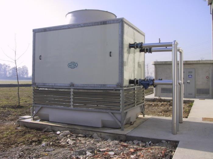 MCC Torre evaporativa a circuito chiuso - per fluidi da mantenere inalterati