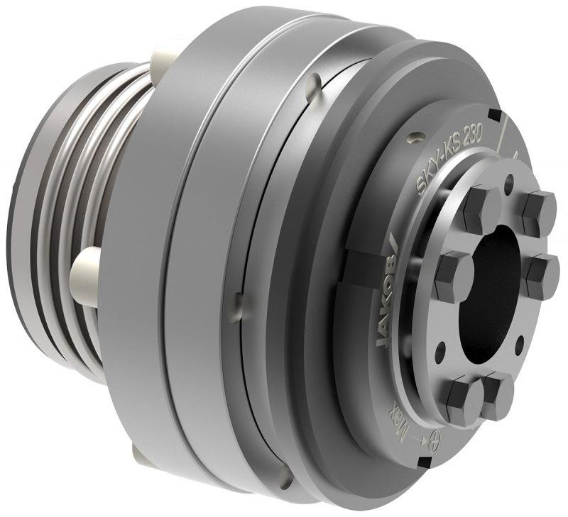 Safety coupling SKY-KS - Safety coupling SKY-KS for direct drives
