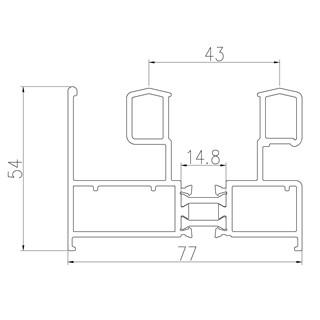 Construction profiles - SD77X54