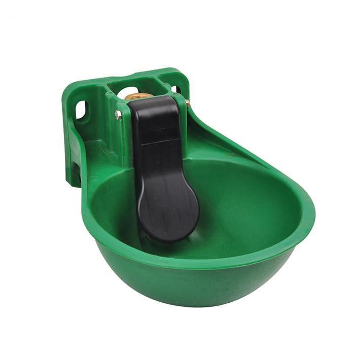 2.6L Plastic Horse/cattle Feed Buckets with Vertical Tongue - Horse and Cow Feeding Trough Drinking Bowl