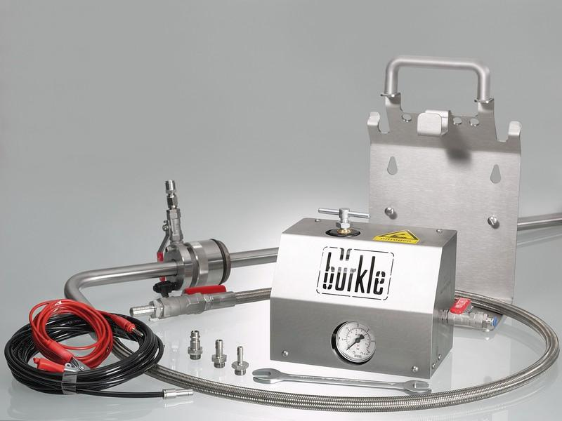 Withdrawal system for solvents - Barrel pump, stainless steel, for ultra-pure media