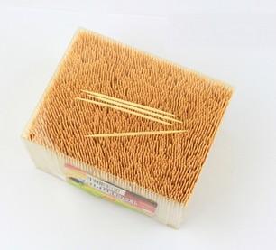 Bamboo toothpicks - double point toothpicks