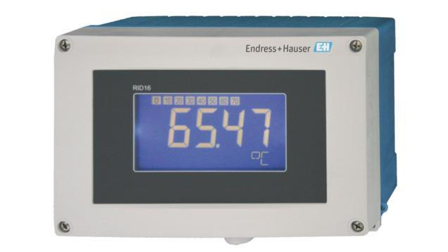 composants systeme enregistreur datamanager - afficheur terrain 8 voies RID16