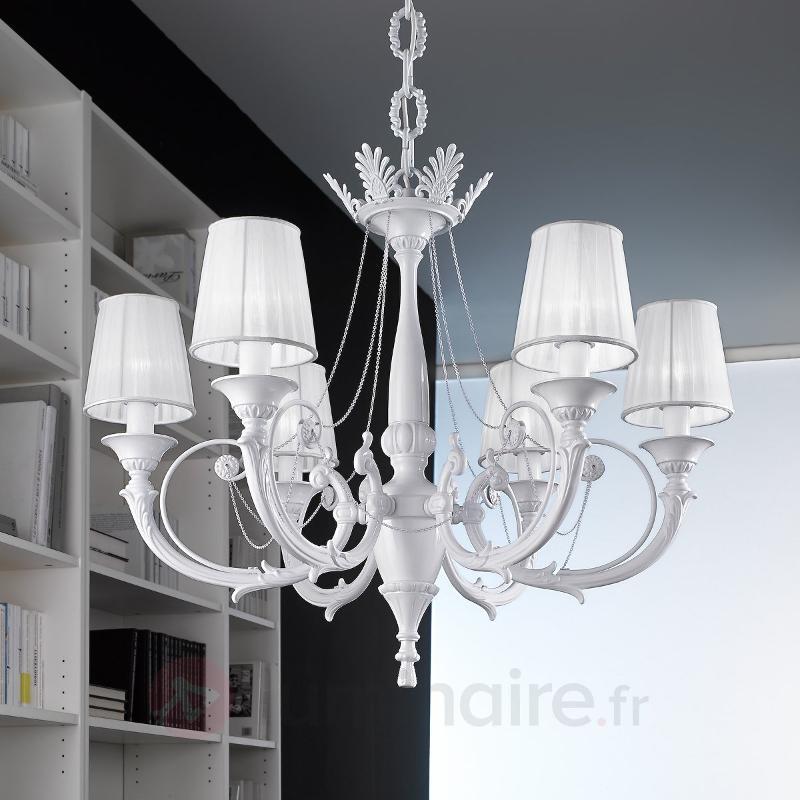 Lustre BIANCA à 6 lampes - Lustres classiques,antiques