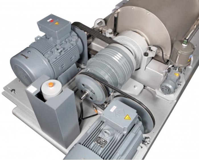 С-серия Flottweg - Декантерная центрифуга для обработки осадка сточных вод и сточных вод