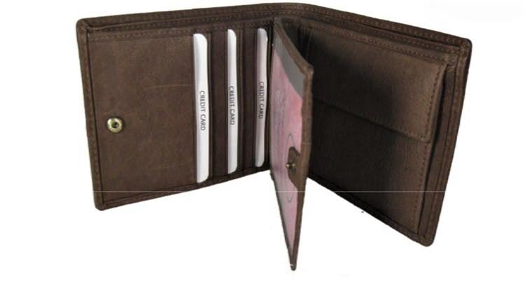 COW LEATHER WALLET - COW LEATHER WALLET FOR MEN