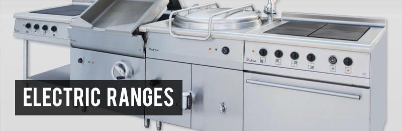 Food service - Electric ranges