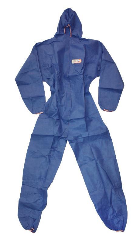 Schutzanzug Kategorie 3 (blau) - Größe XL