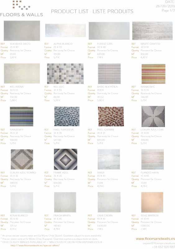 Ceramic tiles - Ceramic tiles