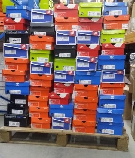 Stocklot shoes by top brands Nike, Puma, Adidas, Reebok, etc