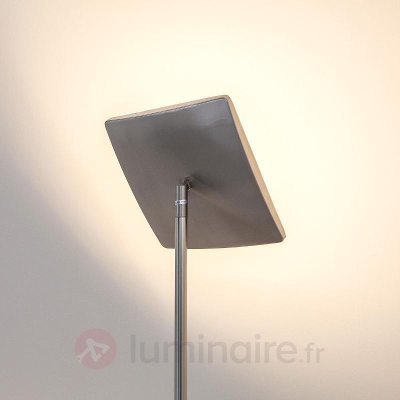 Lampadaire LED carré Arik - Lampadaires LED à éclairage indirect