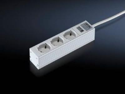 Power supply - Socket strips - in an aluminium duct – DK 7240.110