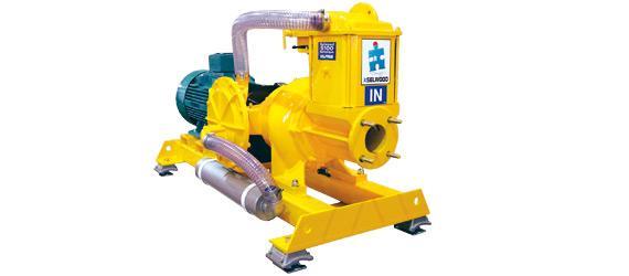 SELWOOD dry self-priming soiled water pumps - S range 100 to 300