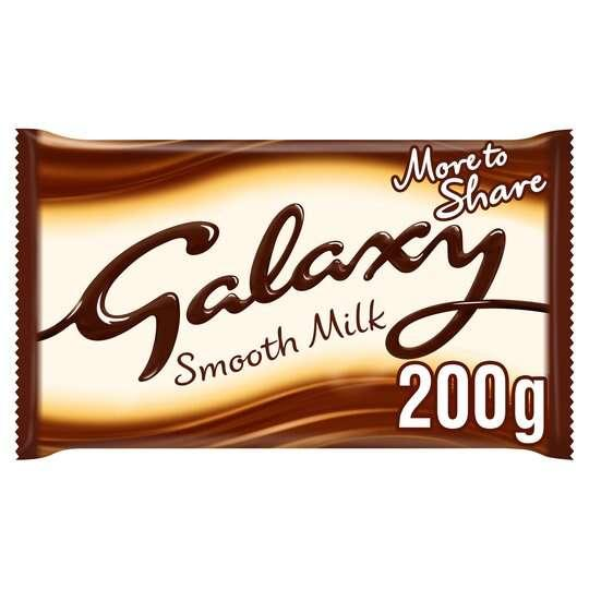 Galaxy Chocolate Bars - Galaxy Milk Chocolate Bar