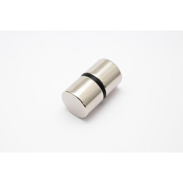 Neodymium disc magnet 24,5x20mm, N45, Ni-Cu-Ni, Nickel... - Disc