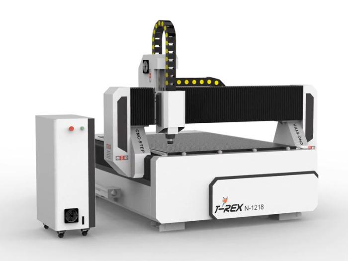 CNC Fräsmaschine T-Rex N-1218 - CNC Maschine mit Zahnstangen, Bedienpult und Vakuumtisch