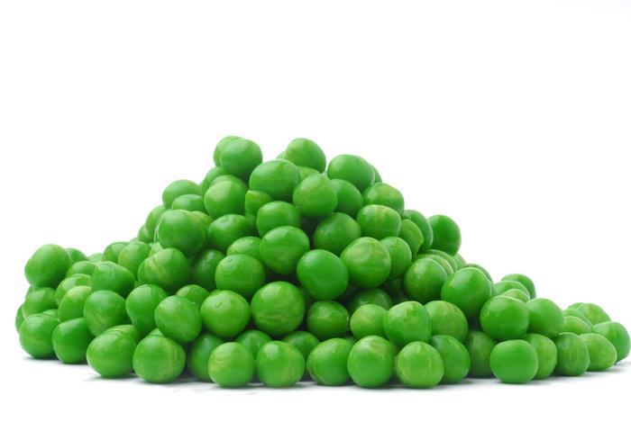 Горох зеленый и желтый