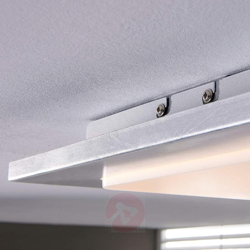Martina - LED ceiling light with silver film - Ceiling Lights