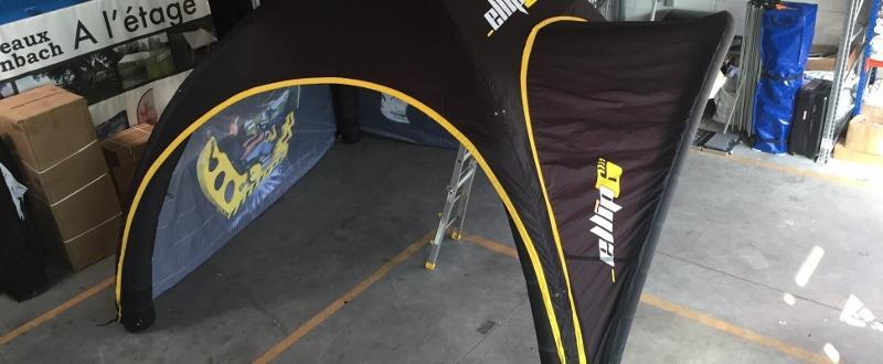 Casquette gonflable - Accessoires tentes gonflables airXpert
