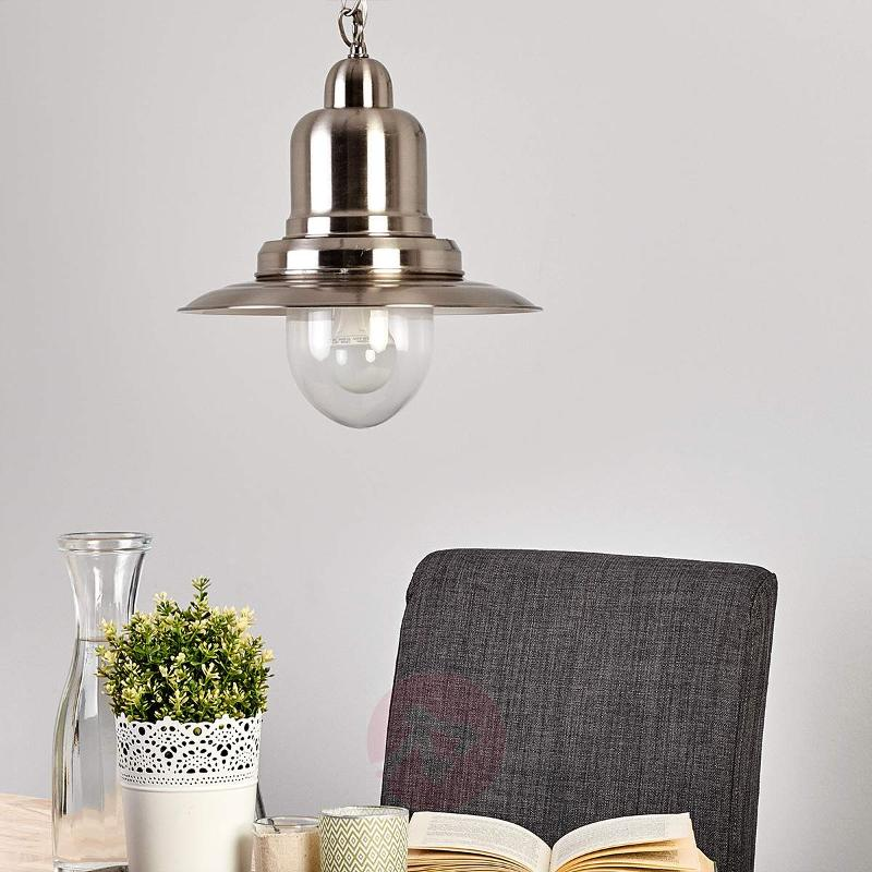 Jeronimo LED pendant light in a maritime style - Pendant Lighting