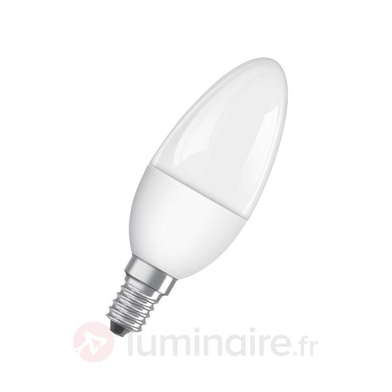Ampoule LED bougie Superstar E14 5,5W 827 mate - Ampoules LED E14