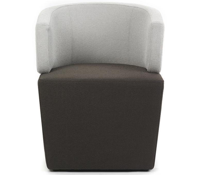 fauteuils - LOUNGE 47CM BICOLOR