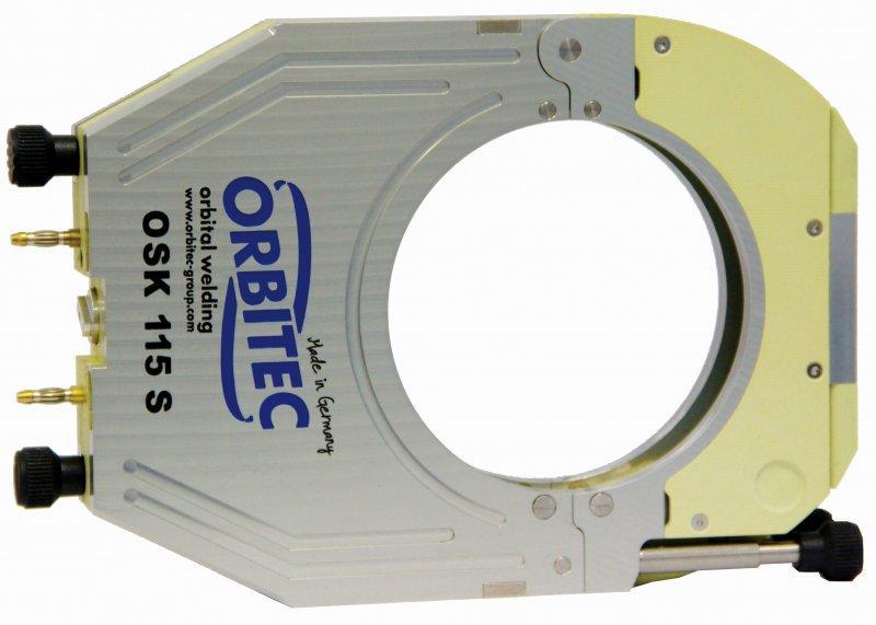 OSK S | SW series - Gas-cooled + Water-cooled enclosed weld head, orbital welding - OSK S SW,Orbitec