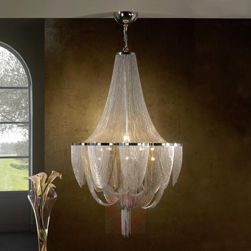 15-light chandelier Minerva - design-hotel-lighting