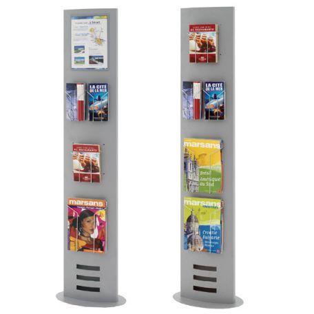 Totem D'exposition Porte Brochures - Présentoirs