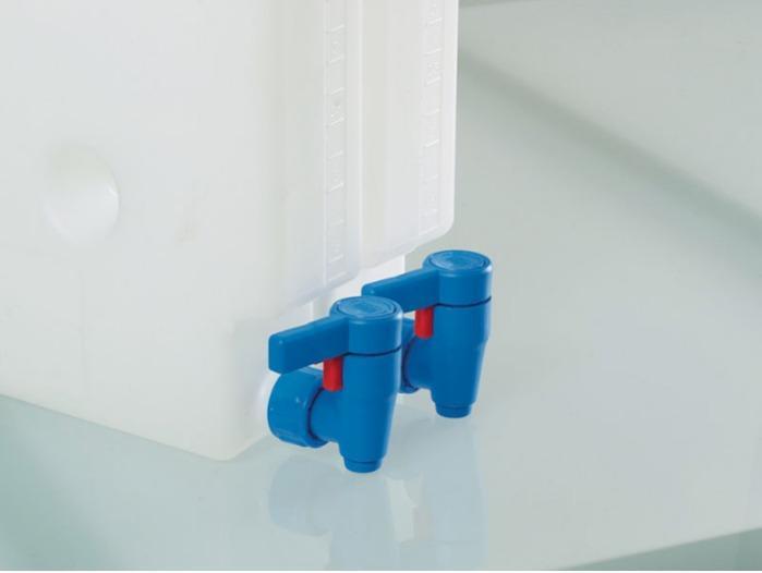 Llave de paso Compact - Grifo de vaciado, descarga corta
