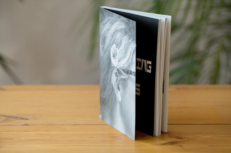 Swiss binding softcover book, linen on the spine - Softcover book