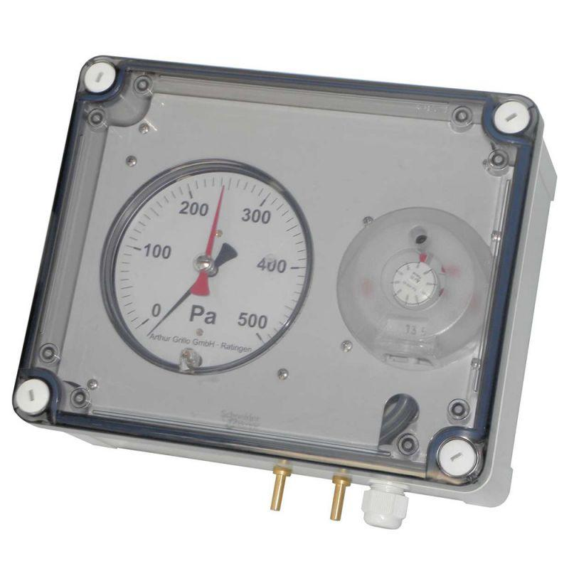 D2000-K-S - Indicador de presión de esfera - DA2000-K-S