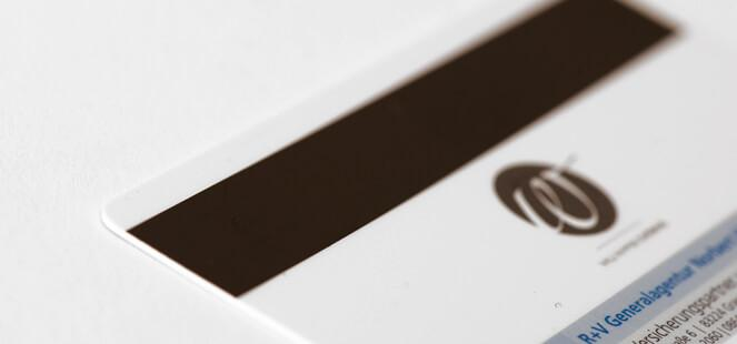 Magnetic stripe cards - Print and Encoding of your Plastic card