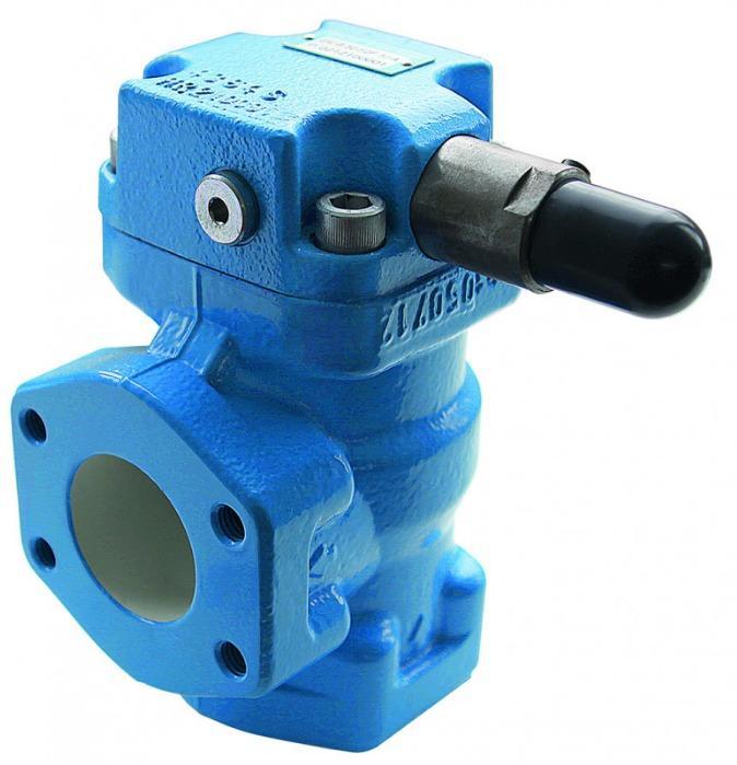 Vanne de pression DV - vannes pilotées de manière hydraulique.