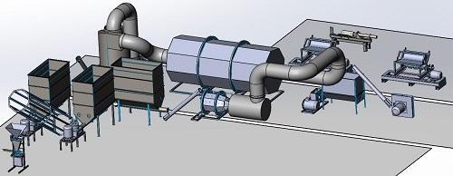 машини за преработка на биомаса - линии за производство на пелети