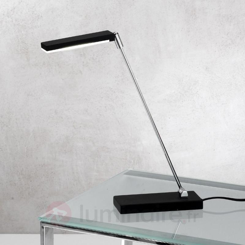 Lampe à poser LED NIKI noire - Lampes de bureau LED