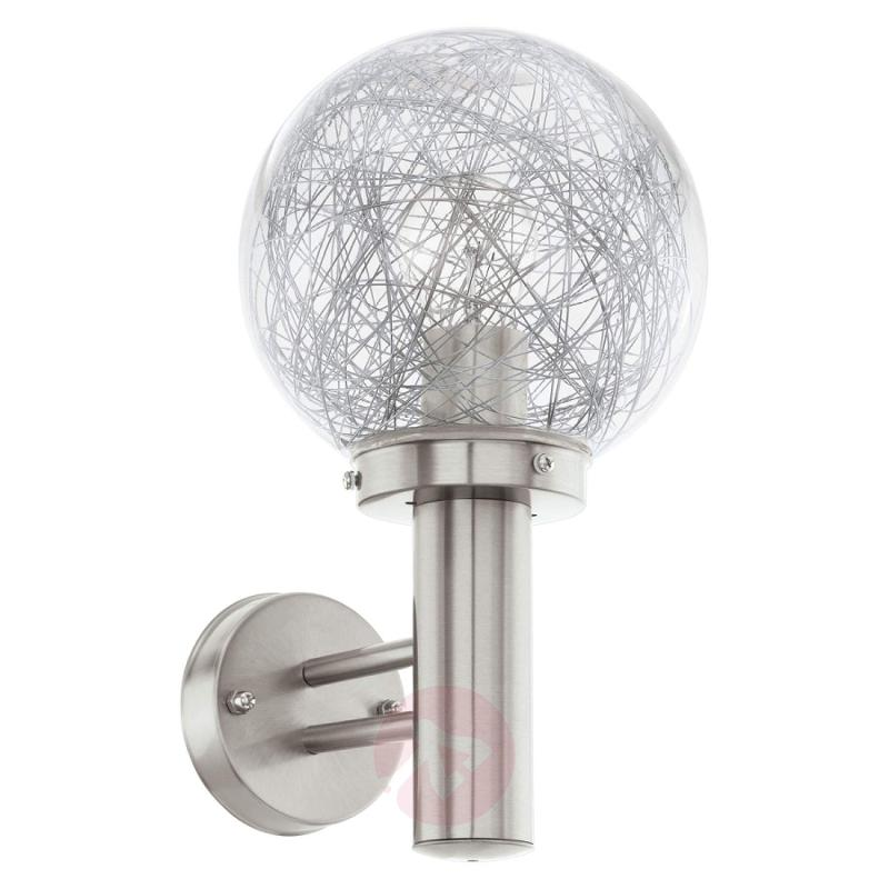 Attractively designed Nisia outdoor wall light - stainless-steel-outdoor-wall-lights