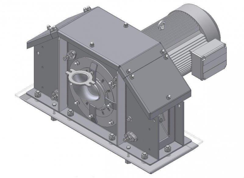 Turbinas de alto rendimiento 4.6 - Turbinas de alto rendimiento con un diám. de granallado de 420, 440 y 460 mm