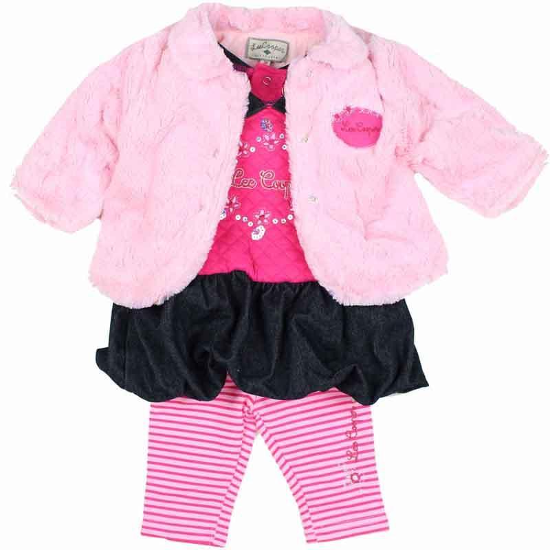 Manufacturer baby set of clothes licenced Lee Cooper - Winter Set
