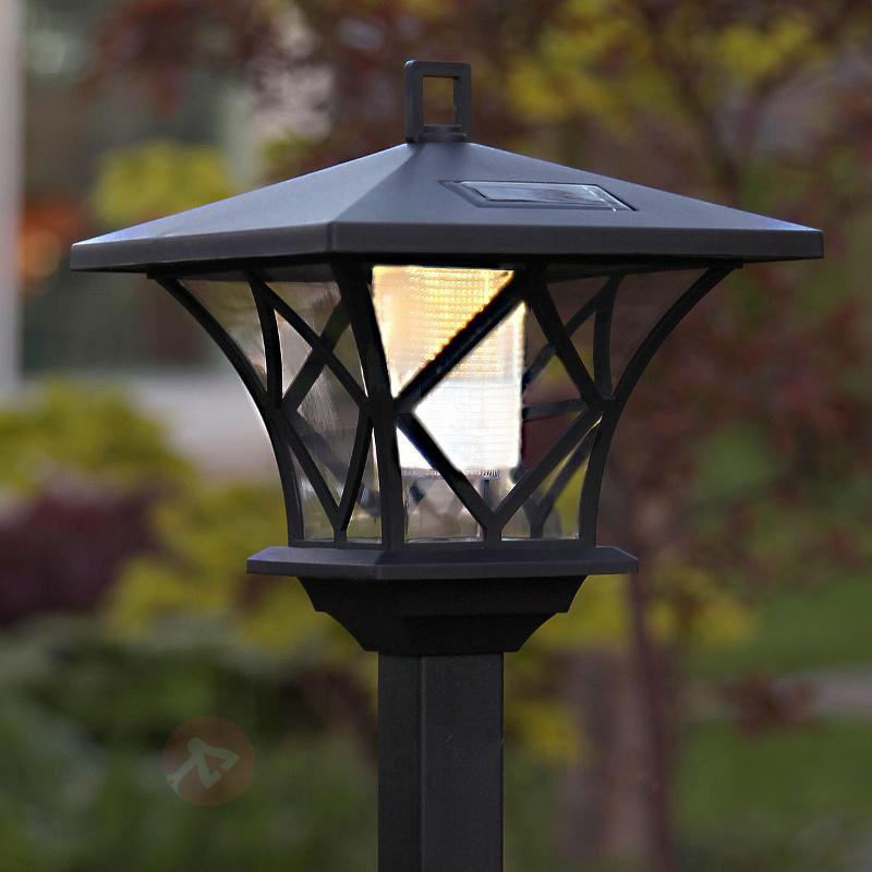 Lampe solaire LED à piquet Aron - Lampes solaires décoratives