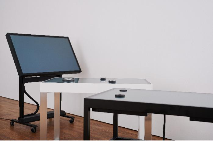 """Multitouch Tables with optional object recognition - Various screen sizes (32"""", 43"""", 55"""", 65"""") and models (Lab, Movable, Pro)"""