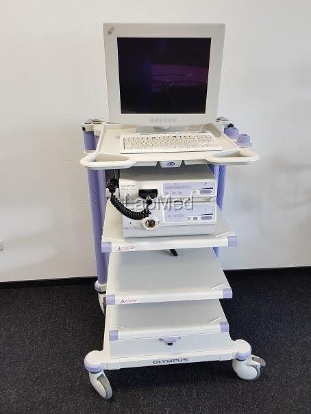 Endoskopie Olympus Videoprozessor CV-180 Lichtquelle CLV-180 - Endoskopie