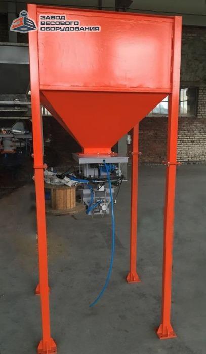 Гравитачно дозатор за пълнене в отворени торби - Дозаторът ДФСМ е предназначен за пълнене на отворени торби.